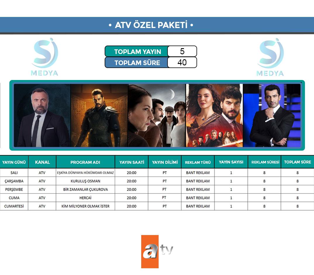 ATV Reklam Paketi